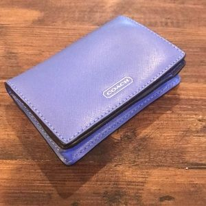 Coach Crossgrain Leather Wallet
